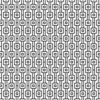 Modernes geometrisches nahtloses Muster mit Quadraten vektor