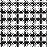 Modernes geometrisches nahtloses Muster mit Quadraten