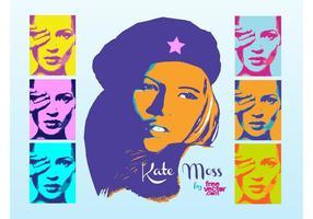 Kate Moos Pop Art vektor