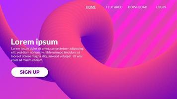 Mischungssteigung, die purpurroten modernen Hintergrund bewegt