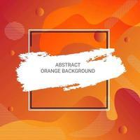 Abstrakte orange Steigung formt Hintergrund
