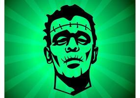 Frankenstein Zeichnung vektor