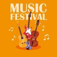 Musikfestivalaffisch