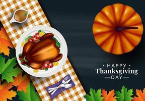 Thanksgiving middag set