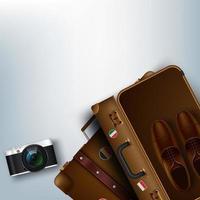 Reisegepäck für den Tourismus