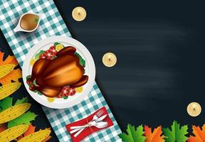 Thanksgiving middagsbord