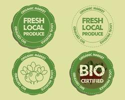 Bauernhof-Frischware-Abzeichen