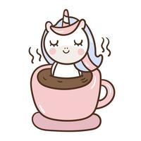 Liten ponny i kaffekoppen