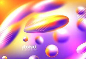 Flüssige Farbe des abstrakten Layouts