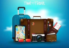 Desktop Urlaub Konzept