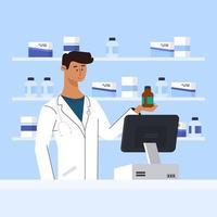 Klinik Medikamente Drogerie vektor