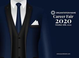 Career Fair Recruitment-Design-Plakat