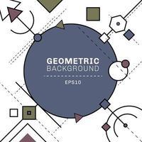 Abstrakte blaue und graue geometrische und Strichlinien Zusammensetzung