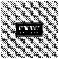 Svartvit geometrisk sömlös bakgrund vektor