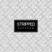 Abgestreifter nahtloser Muster-Schwarzweiss-Hintergrund
