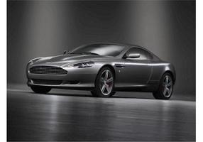 Kühler Aston Martin vektor