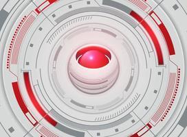 Abstrakte futuristische Tapete vektor