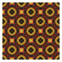 Jordfärger geometriska sömlösa mönster vektor