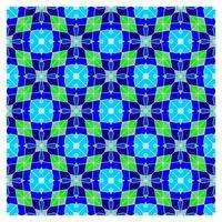 Optische Täuschung geometrisches nahtloses Muster