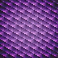 Geometrischer violetter Kubikhintergrund vektor