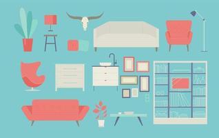 Möbler för hemmiljön