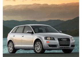 Audi A3 Hintergrund vektor