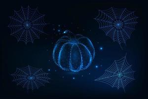 Futuristiska Halloween gelements set