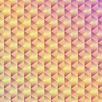 Abstrakter nahtloser geometrischer Kubikhintergrund vektor