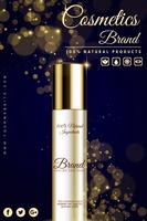 Luxus Kosmetik Werbebanner