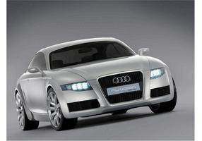 Audi nuvolari quattro vektor
