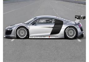 Audi r8 gt3 vektor