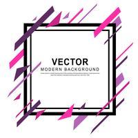 Modern vektorbannersabstrakt design vektor