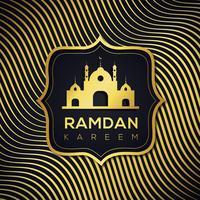 Abstrakter Ramadan Islamischer Hintergrund vektor