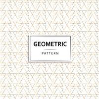 Schönes Art Deco geometrisches Muster vektor