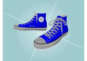 Alle Star Sneakers vektor