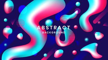 Flüssige abstrakte Hintergrund-Tapete vektor
