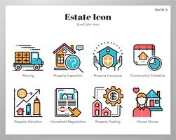 Estate Icons Set