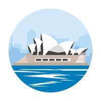 Operahuset i Sydney vektor