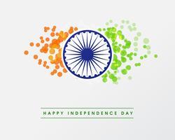 Illustration av den lyckliga indiska republiken