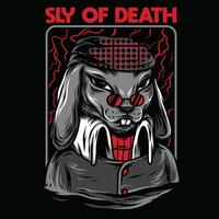 design för tshirt för djurillustration för färg