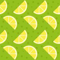 Citron sömlösa mönster