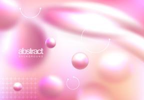 Rosa abstrakte Abdeckung vektor