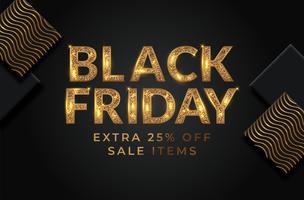 Black Friday Sale Banner vektor