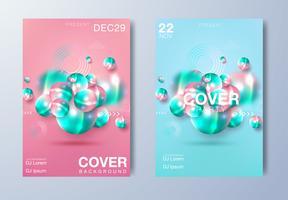 Poster für elektronische Musik