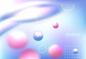Färgglad abstrakt omslag vektor