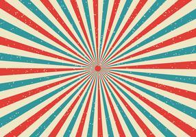 Komischer Popart Arthintergrund Karikatur des Retro- Sonnendurchbruchs und der Strahlen vektor