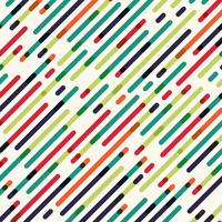 Abstrakt sömlös diagonal röd grön och blå färglinjer mönsterbakgrund vektor