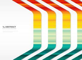 Stripe line tech färgglada mönster med omslag kopia utrymme
