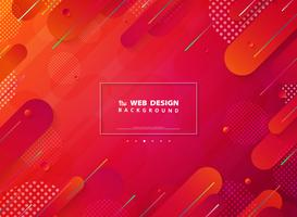 Vivid Color Stripe Line Tech Landing Page