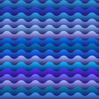nahtloses Muster der blauen Wellen